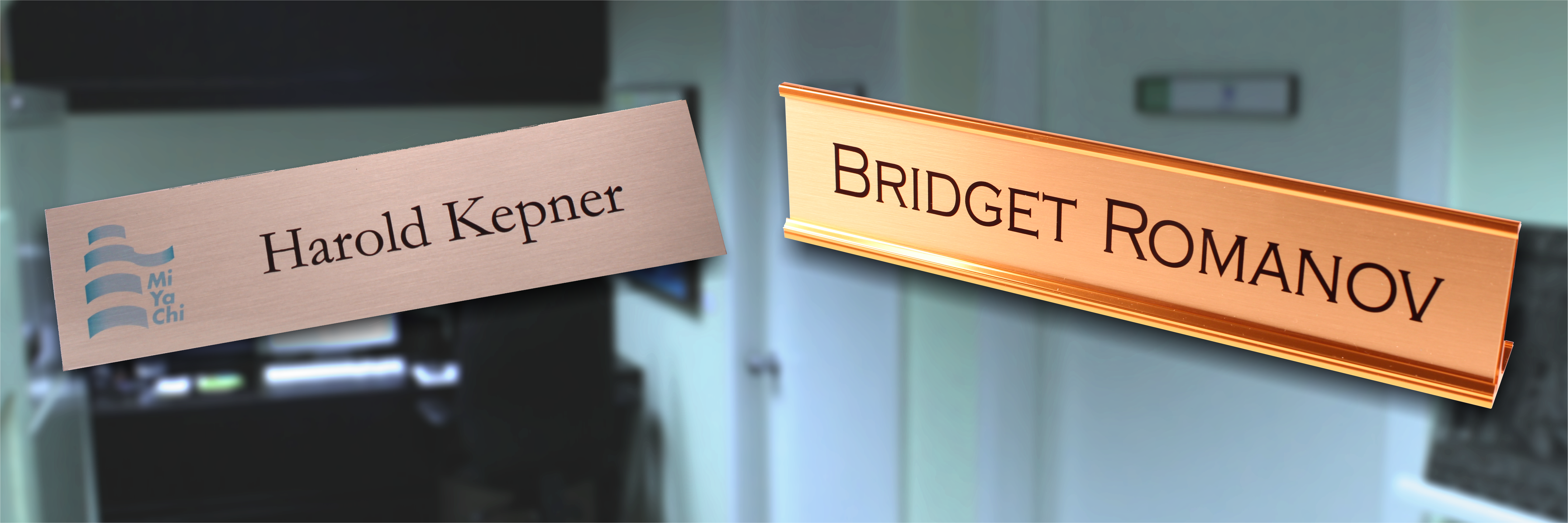 Nameplates for Your Office