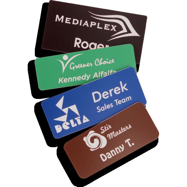 Plastic Name Badges